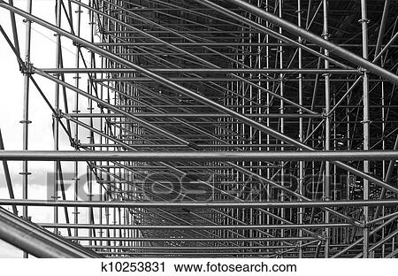 Stock Photography Of Structural Steel Framework K10253831