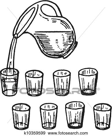Messbecher clipart  Bewässern krug Illustrationen und Stock Kunst. 336 bewässern krug ...