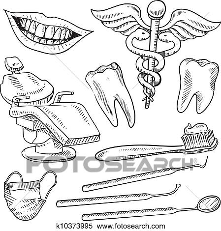 Equipment Drawing Clipart Dentistry Equipment
