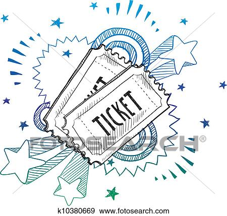 tickets for drawings