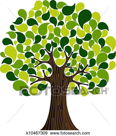 Easy Abstract Tree Drawings Abstract Spring Time Tree