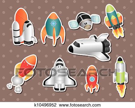 剪贴画 - 宇宙飞船, 屠夫图片