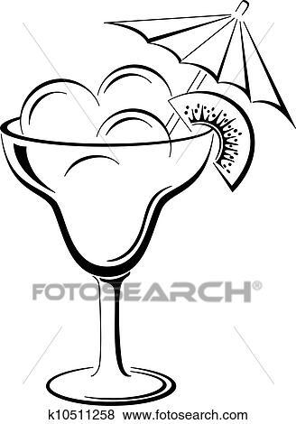 璃瓶, 带, 冰淇淋, 黑色, 轮廓