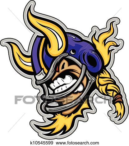 Football Helmet Horns Horns on Football Helmet