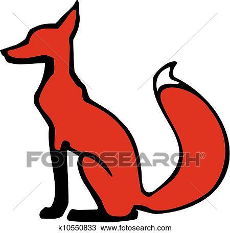 手绘图 - 座位, 狐狸