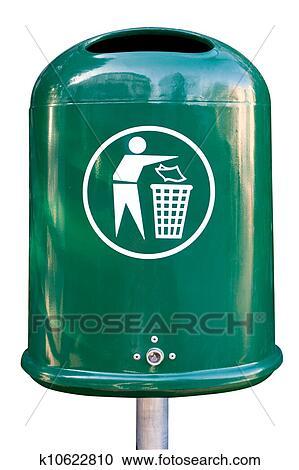 banques de photographies poubelle k10622810 recherchez des photos des images et des. Black Bedroom Furniture Sets. Home Design Ideas