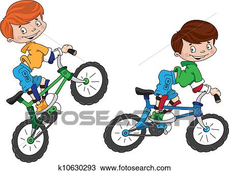 Clipart of bicyclist smile k10630293 - Search Clip Art ...