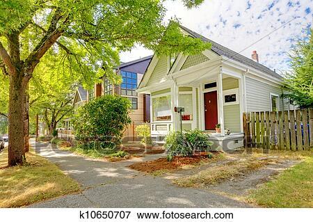 immagine piccolo carino artigiano americano casa