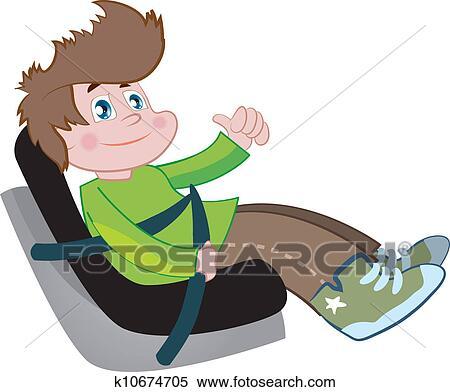 Preschoolers Clip Art Free Car Seat