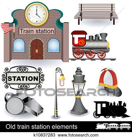 Vintage Train Station Stock Images, Royalty-Free Images ...