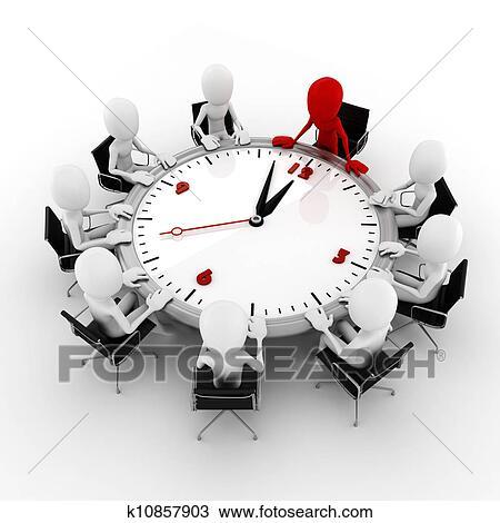 Dessin 3d homme conf rence affaires concept k10857903 for Table 3d dessin