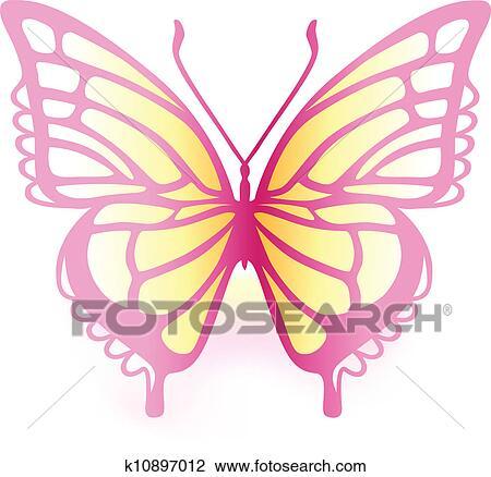 剪贴画 彩色, 蝴蝶