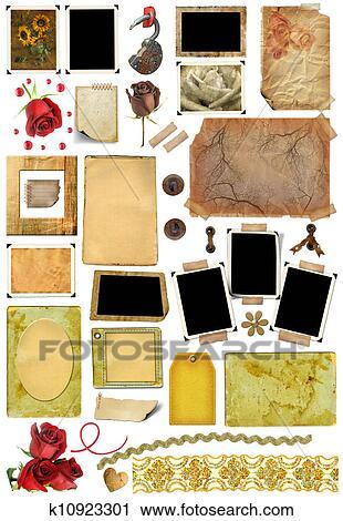 banques de photographies a ensemble de envoyer la casse l ments cadres tableau photo. Black Bedroom Furniture Sets. Home Design Ideas