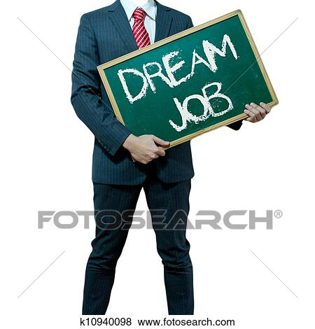 Dream Board Words Business Word Dream Job
