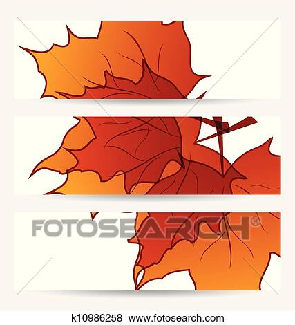 剪贴画 - 放置, 秋天,