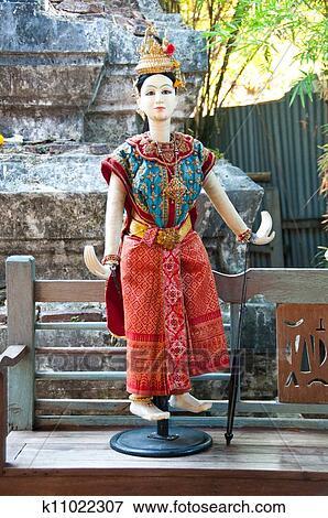 图片- 泰国人, 木偶