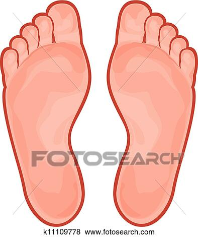 Clip Art Feet Clip Art foot clipart eps images 33641 clip art vector illustrations foot