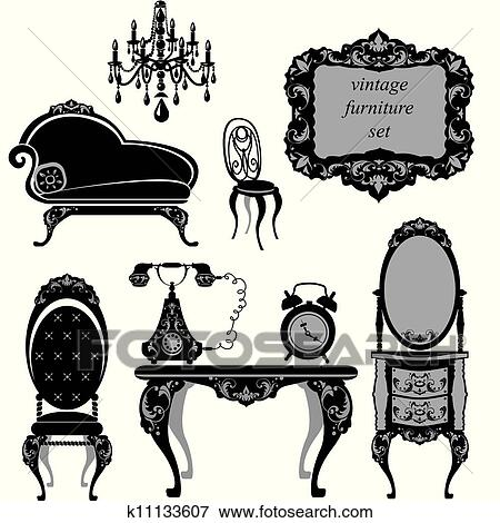 Cad moreover One Bedroom 500 Square Foot Apartment moreover Stock Vector Chair Set Black besides Aidan Gray Chandeliers in addition Floorplans. on classic dining room interior design