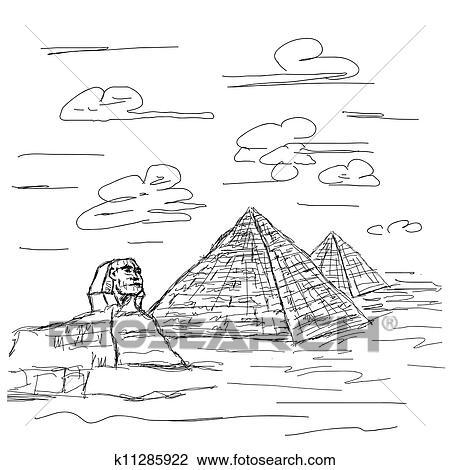 埃及, 金字塔