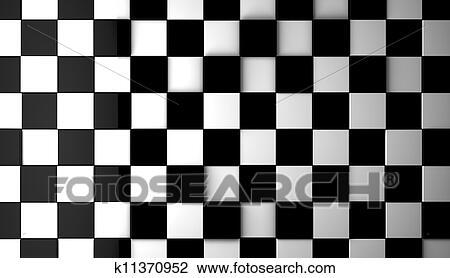 剪贴画 黑白, 瓦片, 背景