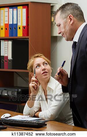 фото шеф и секретарша