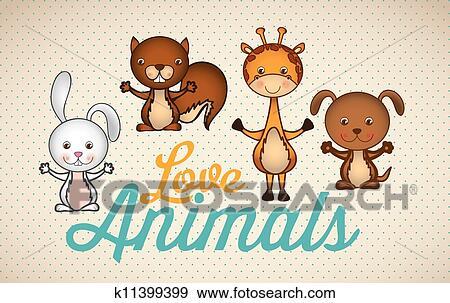 剪贴画 - 动物图标