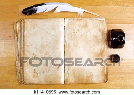 Фото торт с ручкой и чернильницей