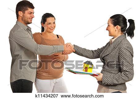 Image couple enceinte achat nouvelle maison k11434207 for Achat nouvelle maison impot