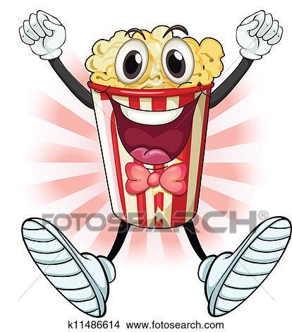 Clip Art Clipart Popcorn popcorn clipart illustrations 4899 clip art vector eps popcorn