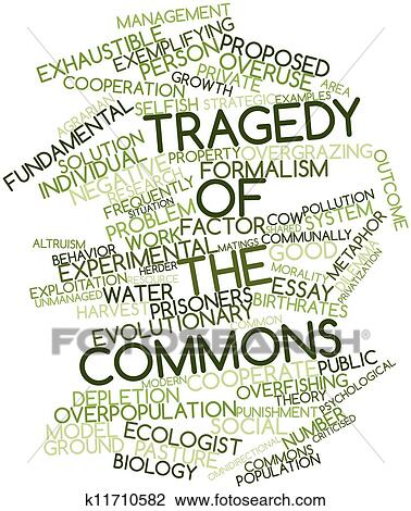 summary of the tragedy of the commons