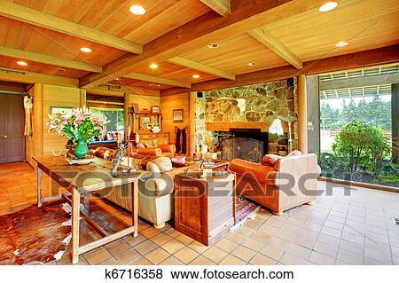 bilder gro wohnzimmer auf dass pferd ranch mit dass kitchen k6716358 suche. Black Bedroom Furniture Sets. Home Design Ideas