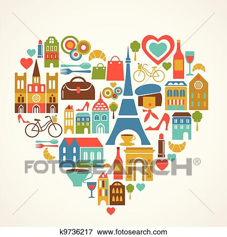 Clip Art of Bon Voyage k2676176 - Search Clipart, Illustration ...