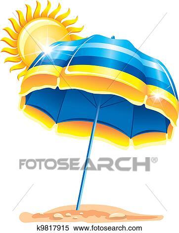 2017 Sonnenschirm Clipart Gratis