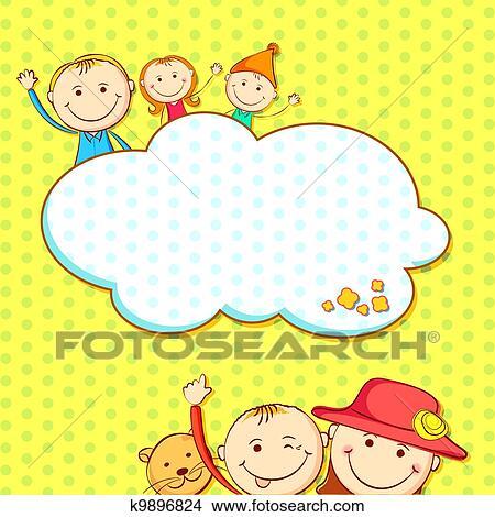 儿童生日画画图片