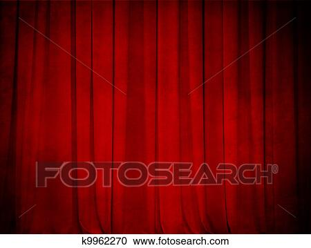 Stock Photography   Grunge Theatre Red Curtain Background. Fotosearch    Search Stock Photos, Pictures
