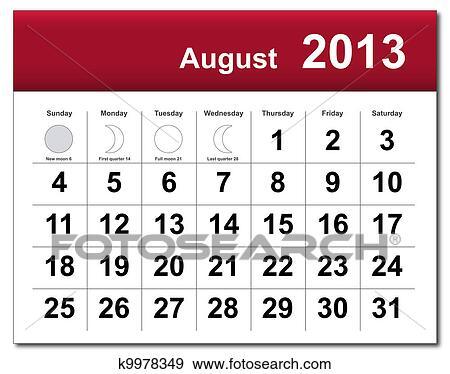 2013 Calendar Clip Art Related Keywords & Suggestions - 2013 Calendar ...