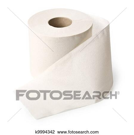 Clip Art of roll of toilet paper k9994342 - Search Clipart ...