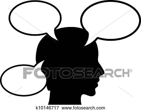 clip art of thinking person k10146717 search clipart illustration rh fotosearch com picture of a person thinking clipart person thinking clipart