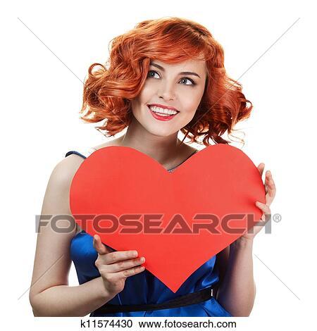 banques de photographies valentines day tenue femme saint valentin c ur signe flic. Black Bedroom Furniture Sets. Home Design Ideas