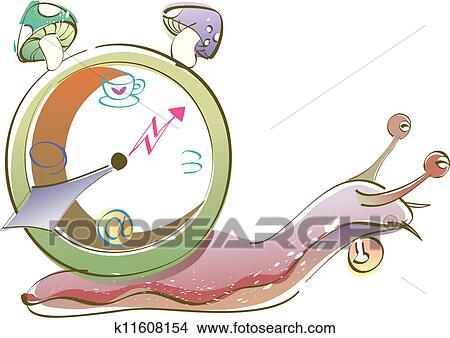 剪贴画 - a, 蜗牛
