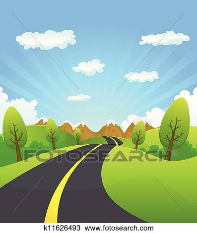 road background clip art - photo #24