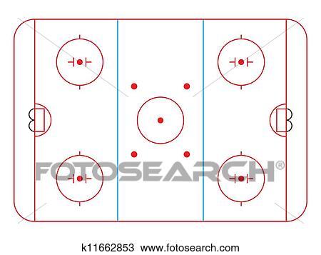 Clipart hockey patinoire k11662853 recherchez des clip arts des illustrations des dessins - Dessin patinoire ...