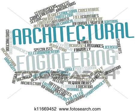 clip art of architectural engineering k11669452 - search clipart