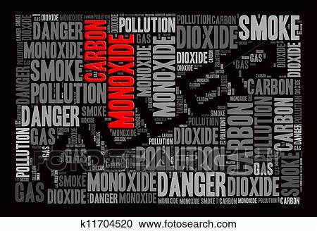 Banques de photographies oxyde carbone est les tueur - Oxyde de carbone ...