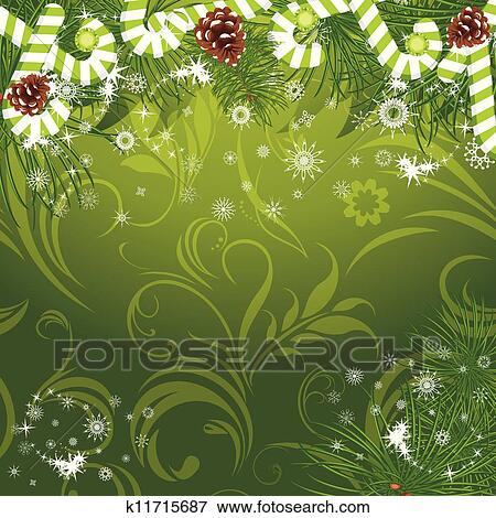 clipart no l arbre sapin cannes bonbon k11715687 recherchez des cliparts des. Black Bedroom Furniture Sets. Home Design Ideas