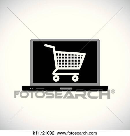 clipart abbildung von kaufen oder online kaufen. Black Bedroom Furniture Sets. Home Design Ideas