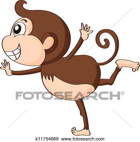 剪贴画 - a, 猴子