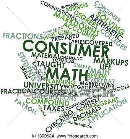 Consumer math problems