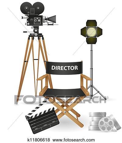Cinematography clip art