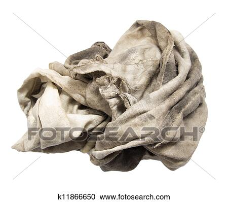 Dirty Rag Clipart Stock Photography of d...